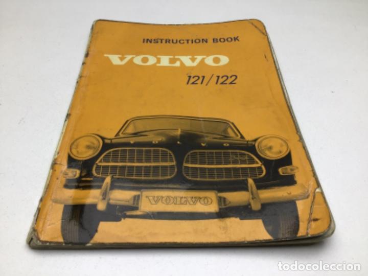 CATALOGO VOLVO 121/122 - LIBRO DE INSTRUCCIONES EN INGLES (Coches y Motocicletas Antiguas y Clásicas - Catálogos, Publicidad y Libros de mecánica)