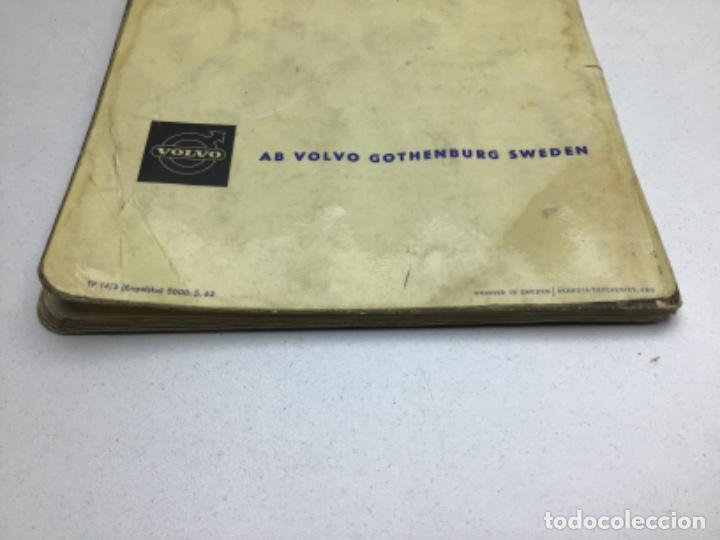Coches y Motocicletas: CATALOGO VOLVO 121/122 - LIBRO DE INSTRUCCIONES EN INGLES - Foto 12 - 210438790