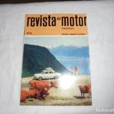 Coches y Motocicletas: REVISTA DEL MOTOR CHECOSLOVACA.6 DE 1970.JAWA 90.CAMIONES SKODA. Lote 210482526