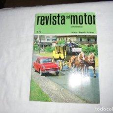 Coches y Motocicletas: REVISTA DEL MOTOR CHECOSLOVACA.5 DE 1970..CAMIONES SKODA 706 BOBR.LOS CAMIONES TATRA. Lote 210482882