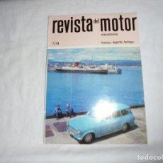 Coches y Motocicletas: REVISTA DEL MOTOR CHECOSLOVACA.7 DE 1970.LAS MOTOCICLETAS DEPORTIVAS CHECOSLOVACAS 1970. Lote 210483235
