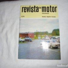 Coches y Motocicletas: REVISTA DEL MOTOR CHECOSLOVACA.8 DE 1970.EL COCHE SKODA Y EL DEPORTE. Lote 210483522