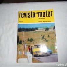 Coches y Motocicletas: REVISTA DEL MOTOR CHECOSLOVACA.10 DE 1970. SKODA 1100 MB/CZ 125 MOTOCROSS TIPO 984. Lote 210483742