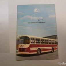 Coches y Motocicletas: PEGASO HOJA PUBLICITARIA AUTOCAR 6045. Lote 210561258