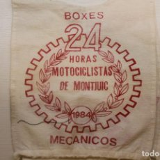 Coches y Motocicletas: PETO, MECANICOS, BOXES, 24 HORAS MOTOCICLISTAS MONTJUICH, 1984. Lote 210563451