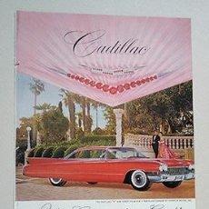 Coches y Motocicletas: CADILLAC COUPE DE VILLE 1960. GENERAL MOTORS. RECORTE PUBLICIDAD. Lote 211513989