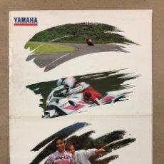 Coches y Motocicletas: CATÁLOGO YAMAHA 1993. RIDE THE FUTURE.. Lote 212226792