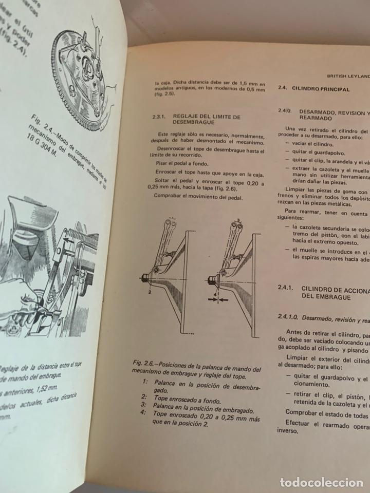 Coches y Motocicletas: Libro manual reparauto British Leyland mini 850-1000-1275-gt-Cooper de 1976 - Foto 3 - 213256467
