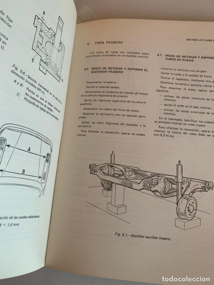 Coches y Motocicletas: Libro manual reparauto British Leyland mini 850-1000-1275-gt-Cooper de 1976 - Foto 4 - 213256467
