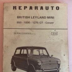 Coches y Motocicletas: LIBRO MANUAL REPARAUTO BRITISH LEYLAND MINI 850-1000-1275-GT-COOPER DE 1976. Lote 213256467