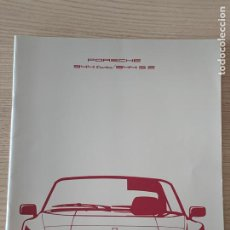 Coches y Motocicletas: PORSCHE 944 TURBO PORSCHE 944 S2 CATALOGO SALES BROCHURE. Lote 213363535
