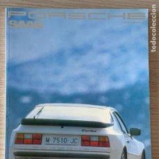 Coches y Motocicletas: PORSCHE SAAB REVISTA NUM 5 ENERO FEBRERO 1989. Lote 213363608