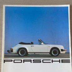 Coches y Motocicletas: PORSCHE CATALOGO TURBOMOTOR PORSCHE 911 SC, 944 928. Lote 213363848