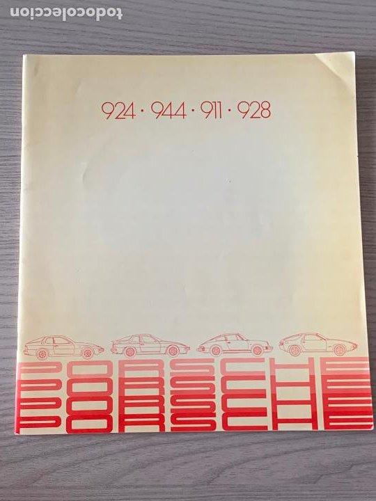 PORSCHE CATALOGO PORSCHE 924 944 911 928 1981 (Coches y Motocicletas Antiguas y Clásicas - Catálogos, Publicidad y Libros de mecánica)