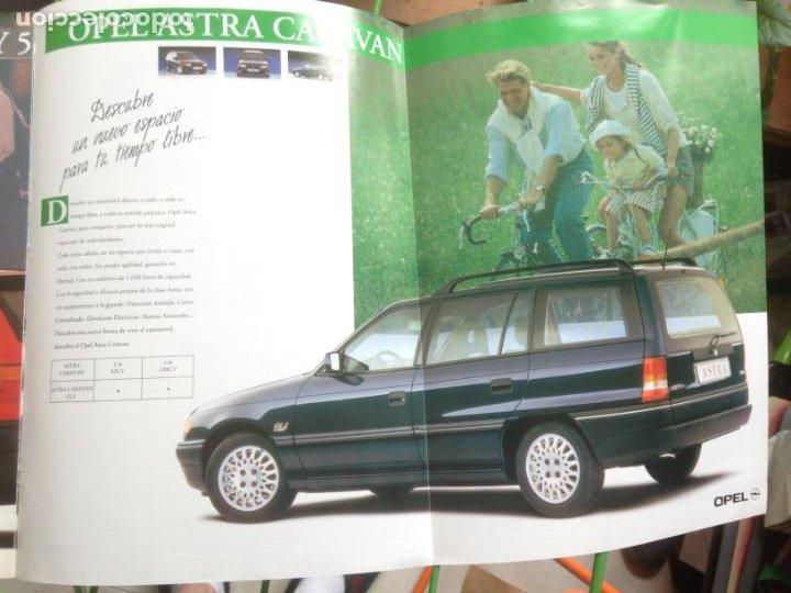 Coches y Motocicletas: CATALOGO - DESCUBRE OPEL ASTRA 1993 - Foto 2 - 213472902