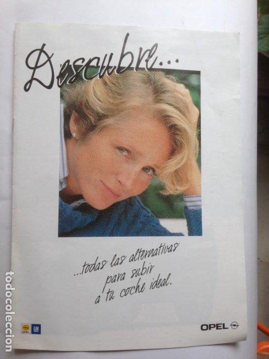 CATALOGO - DESCUBRE OPEL ASTRA 1993 (Coches y Motocicletas Antiguas y Clásicas - Catálogos, Publicidad y Libros de mecánica)