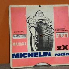 Coches y Motocicletas: ANTIGUO CONTROL DE APARCAMIENTO PUBLICIDAD MICHELIN RADIAL. Lote 214246463