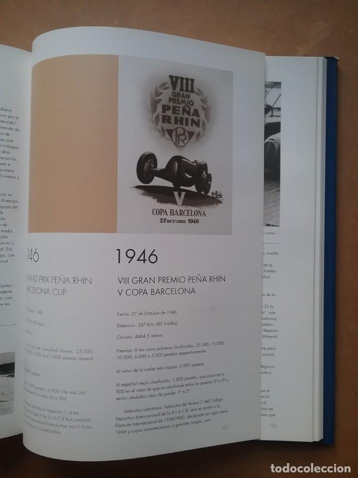 Coches y Motocicletas: PEÑA RHIN AUTOMOVILISMO LIBRO GRANDES PREMIOS INTERNACIONALES PENYA RHIN - Foto 3 - 214800937