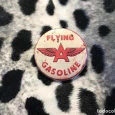 Coches y Motocicletas: CHAPA FLYING GASOLINE- 38 MMS. (CON IMPERDIBLE) -SPEED SHOP - KUSTOM KULTURE ROCKABILLY ROCKERS. Lote 215347900