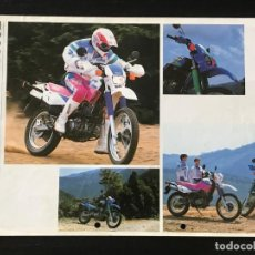 Automobili e Motociclette: YAMAHA XT 600E - FOLLETO CATALOGO ORIGINAL - EN ESPAÑOL - AÑO 1992. Lote 215924430