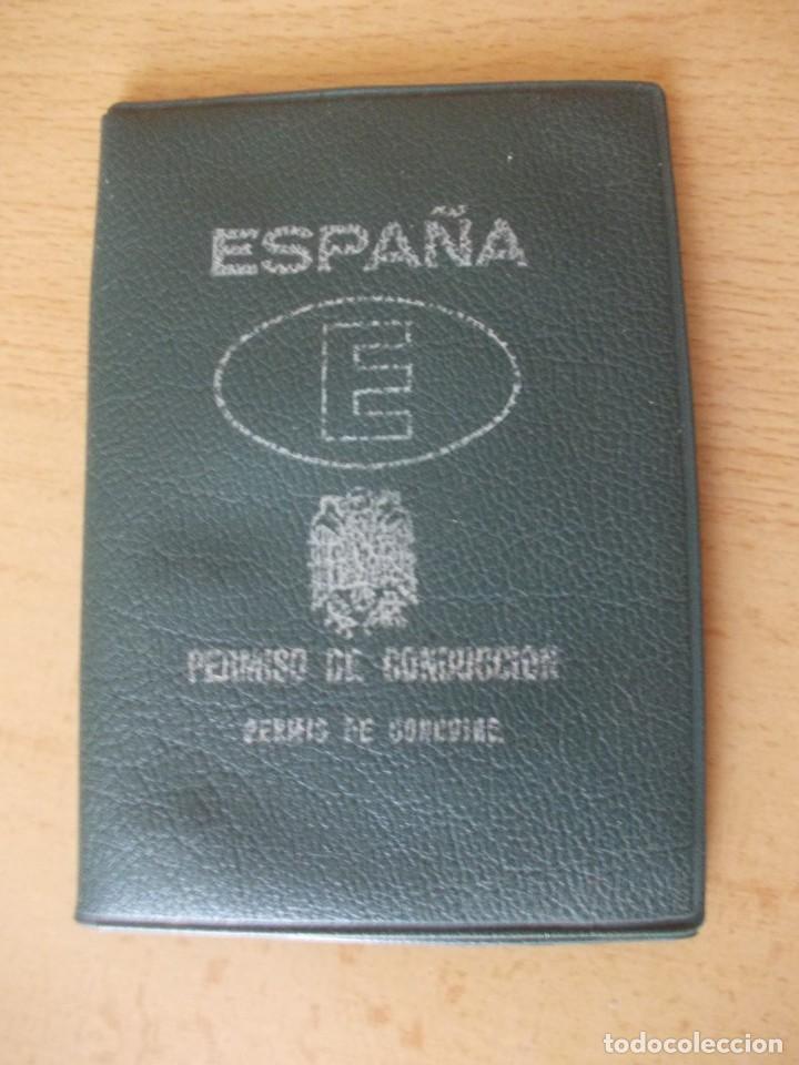 Coches y Motocicletas: funda antiguo permiso de conducción de España (carnet conducir) - Foto 2 - 216968267
