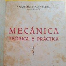 Coches y Motocicletas: MECÁNICA TEÓRICA Y PRÁCTICA, CASAJUS, NAVAL, PYMY 19. Lote 217354432