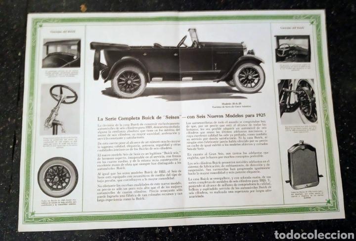 Coches y Motocicletas: Catálogo Buick 1925 General Motos - Foto 2 - 217374766