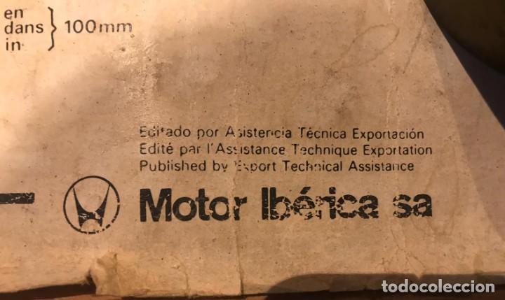Coches y Motocicletas: ANTIGUO CARTEL MOTOR PERKINS D3.152 EDITADO POR MOTOR IBERICA S.A AÑOS 70 - Foto 2 - 217393848