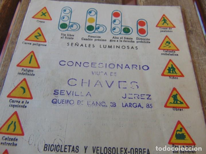Coches y Motocicletas: MANUAL CODIGO DE CIRCULACION BICICLETAS VELOSOLEX ORBEA VELO SOLEX PUBLICIDAD CHAVES SEVILLA - Foto 4 - 217401315