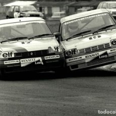 Voitures et Motocyclettes: RENAULT 5 ELF TURBO UK CUP 21*16CM MOTOR RACING RACE CAR COURSE DAUTOMOBILES. Lote 217669260