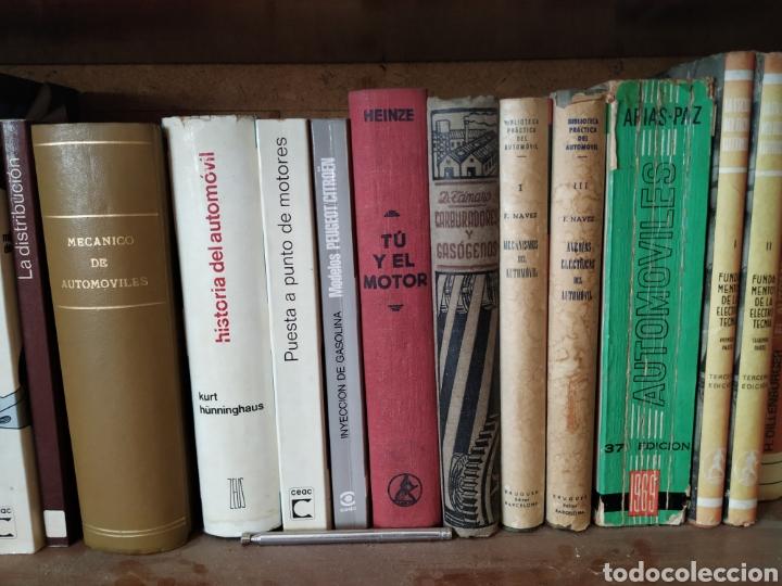 Coches y Motocicletas: Biblioteca mecánica automovil y moto clasica. - Foto 2 - 217927680