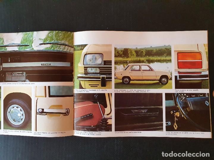 Coches y Motocicletas: LOTE RENAULT 7 - CATALOGOS, MANUAL FOLLETO. ORIGINAL AÑOS 70. - Foto 6 - 217934021