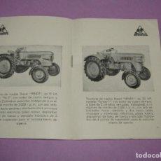Coches y Motocicletas: ANTIGUO CATÁLOGO DE TRACTORES DIESELROSS Y MAQUINARIA AGRÍCOLA CLAAS EXCLUSIVAS DE AGRO MECÁNICA S.A. Lote 218148262