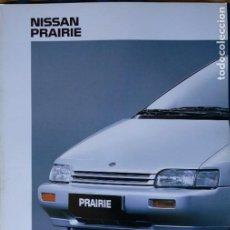 Carros e motociclos: CATÁLOGO NISSAN PRAIRIE. MAYO 1990. EN ESPAÑOL *. Lote 219327826