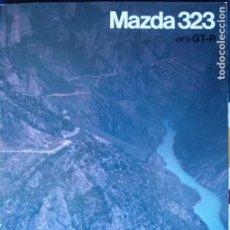 Carros e motociclos: CATÁLOGO MAZDA 323 4WD GT-R. ABRIL 1992. EN ESPAÑOL *. Lote 219329947