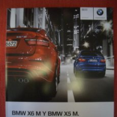 Coches y Motocicletas: BMW X5 M Y X6 M 2010, CATALOGO COMERCIAL. Lote 275632623
