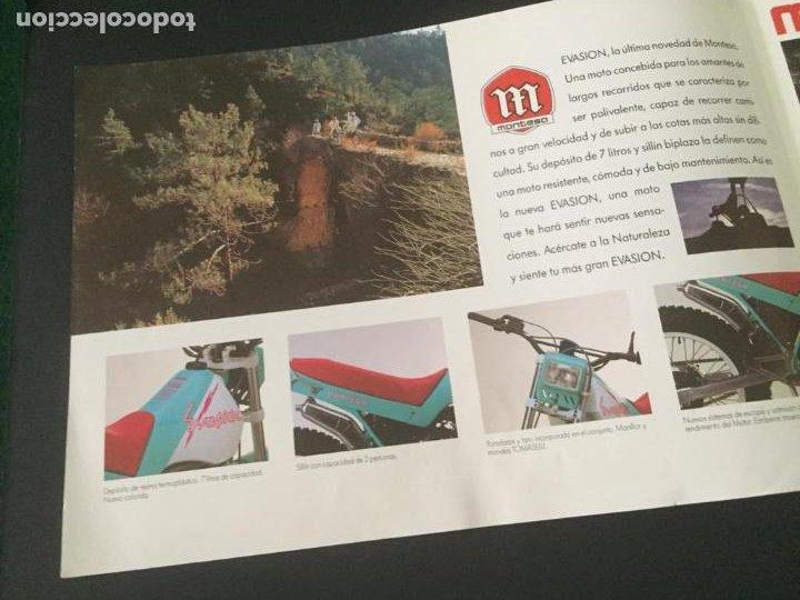Coches y Motocicletas: DIPTICO MONTESA - LA GRAN EVASIÓN - MOTOS - Foto 3 - 219644525