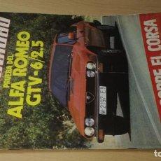 Coches y Motocicletas: VELOCIDAD REVISTA GRAFICA DEL MOTOR 1095 DE 1982 S+206. Lote 219884960