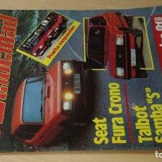 Coches y Motocicletas: VELOCIDAD REVISTA GRAFICA DEL MOTOR 1104 DE 1982 S+206. Lote 219885210