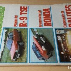 Coches y Motocicletas: VELOCIDAD REVISTA GRAFICA DEL MOTOR 1083 DE 1982 S+206. Lote 219885305