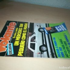 Coches y Motocicletas: VOLANTE REVISTA MENSUAL DEL AUTOMOVIL 3 Y403. Lote 219885510