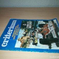 Coches y Motocicletas: CRITERIUM PROGRAMA OFICIAL GRAN PREMIO ESPAÑA FORMULA 1 1975 MONTJUICH Y403. Lote 219885771