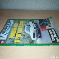 Coches y Motocicletas: VELOCIDAD REVISTA GRAFICA DEL MOTOR 1087 DE 1982 Y403. Lote 219885881