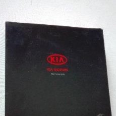 Coches y Motocicletas: DOSSIER PRENSA KIA MOTORS SALON AUTOMOVIL BARCELONA 2003. Lote 220370657