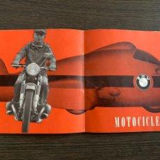 Coches y Motocicletas: CATALOGO DE 1960 MOTOCICLETA BMW R 27 250 C.C. 18CV R 50 500 CC S 60 600 CC 69. Lote 220550553