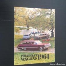 Coches y Motocicletas: CATALOGO COCHE CHEVROLET WAGONS - AÑO 1964. Lote 220732508