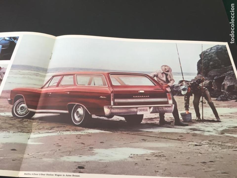 Coches y Motocicletas: CATALOGO COCHE CHEVROLET WAGONS - AÑO 1966 - Foto 3 - 220741698