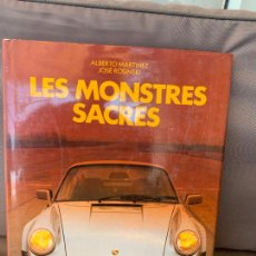 Coches y Motocicletas: LIBRO LES MONSTRES SACRES PORSCHE MASERATI LAMBORGHINI EPA 1986. Lote 220833666