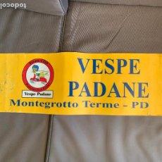 Coches y Motocicletas: VESPA PIAGGIO BANDEROLA VESPE PADANE MONTEGROTTO TERME. Lote 220844488