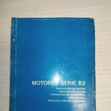 Coches y Motocicletas: MOTORES BARREIROS SERIE B. Lote 220897722